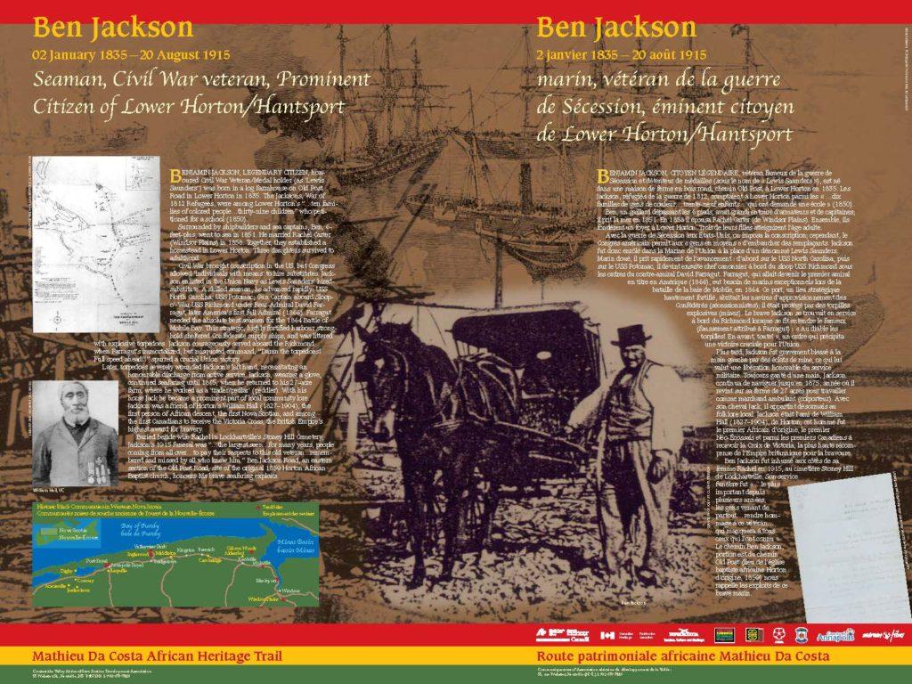 Ben Jackson, Nova Scotia