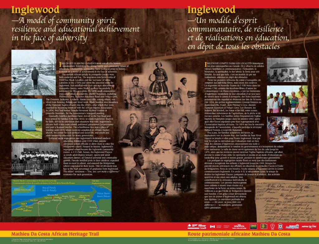 Inglewood Community, Bridgetown, Annapolis County
