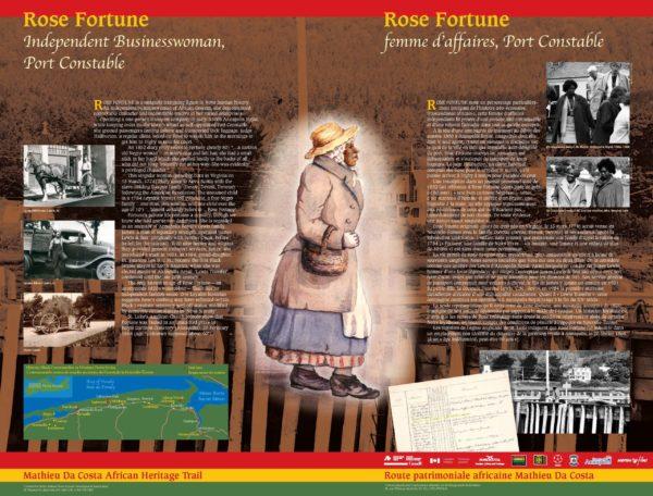 Rose Fortune - Petit Parc, Annapolis Royal
