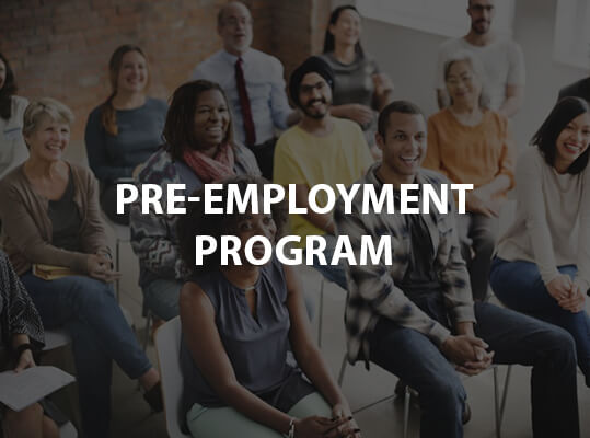 Pre-Employment Program
