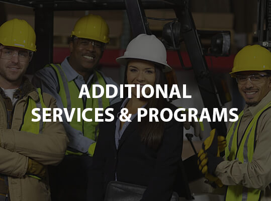 Additional Services & Programs
